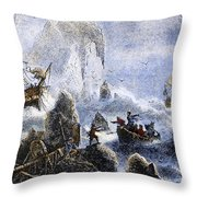 Vitus Jonassen Bering Throw Pillow