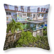 Viva Cuba Mosaic Havana Throw Pillow