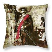 Viva Zapata Throw Pillow