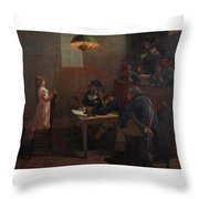 Vive Le Roi Throw Pillow