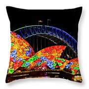 Vivid 15 Throw Pillow