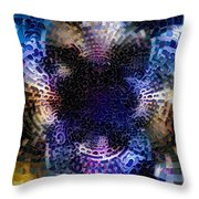 Vivid Abstract Throw Pillow