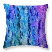 Vivid Calm Throw Pillow