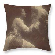 Vivien And Merlin Vivien And Merlin Throw Pillow