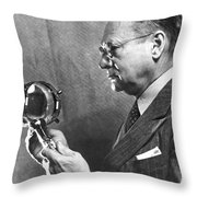 Vladimir K. Zworykin Throw Pillow