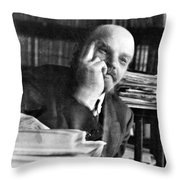 Vladimir Lenin (1870-1924) Throw Pillow