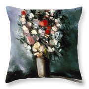 Vlaminck: Summer Bouquet Throw Pillow