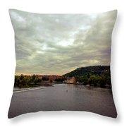 Vltava View 1 Throw Pillow