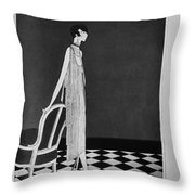 Vogue Magazine, 1925 Throw Pillow