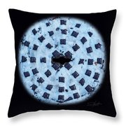 Voice In The Snow Throw Pillow