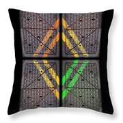 Voices For Green Throw Pillow