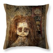 Voices In The Walls Throw Pillow