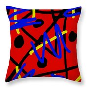 Void Defiant Throw Pillow
