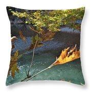Voidomatis River Throw Pillow
