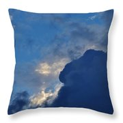 Volatile Autumn Weather Throw Pillow