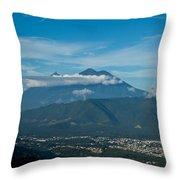Volcan De Agua Antiqua Gutemala 5 Throw Pillow