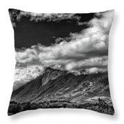 Volcan De Fuego - Bnw - Antigua Guatemala Throw Pillow