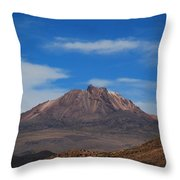 Volcan Tunupa  Throw Pillow