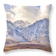 Volcanic Terrain Throw Pillow