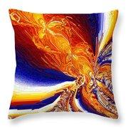 Volcanicity Throw Pillow
