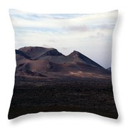 Volcano 1 Throw Pillow