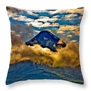 Volcano 2 Throw Pillow