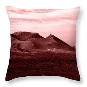 Volcano 3 Throw Pillow
