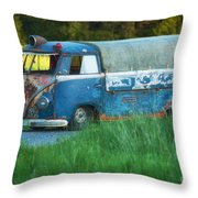 Volkswagen Bus Throw Pillow