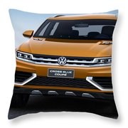 Volkswagen Crossblue Throw Pillow