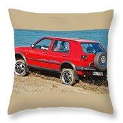 volkswagen Golf II  Throw Pillow