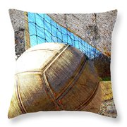 Volleyball Art Version 5 Throw Pillow