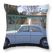 Volvo Throw Pillow