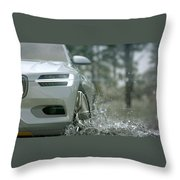 Volvo Xc Coupe Concept Throw Pillow