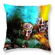 Voodoo For You Throw Pillow