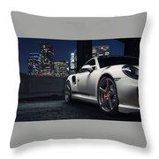 Vorsteiner V Rt Edition Porsche 991 Turbo S 3  1 Throw Pillow