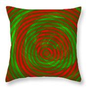 Vortex 1 Throw Pillow