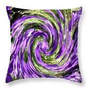 Vortex Abstract Art No. 14 Throw Pillow