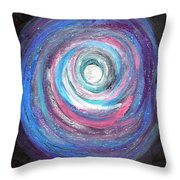 Vortex Of Love 2 Light Is Wave And Particle Throw Pillow