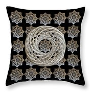 Vortex Stargate Throw Pillow