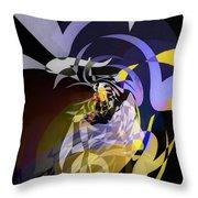 Vortice 3 Throw Pillow
