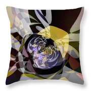Vortice 4 Throw Pillow