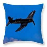 Vought F-4u Corsair Throw Pillow