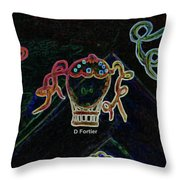 Voyages Oniriques / Dreamlike Trips Throw Pillow