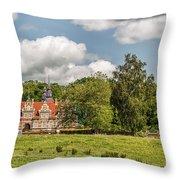 Vrams Gunnarstorp Castle Throw Pillow