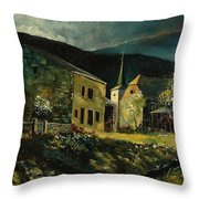 Vresse 67 Throw Pillow