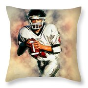 Vss Panthers Throw Pillow