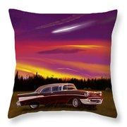 Vintage Stars Throw Pillow