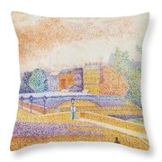 Vue De Paris 1885 Throw Pillow
