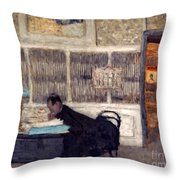 Vuillard: Revue, 1901 Throw Pillow