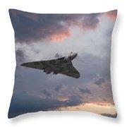 Vulcan Sunset Throw Pillow